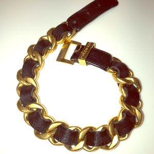 Chanel classic chain link bracelet